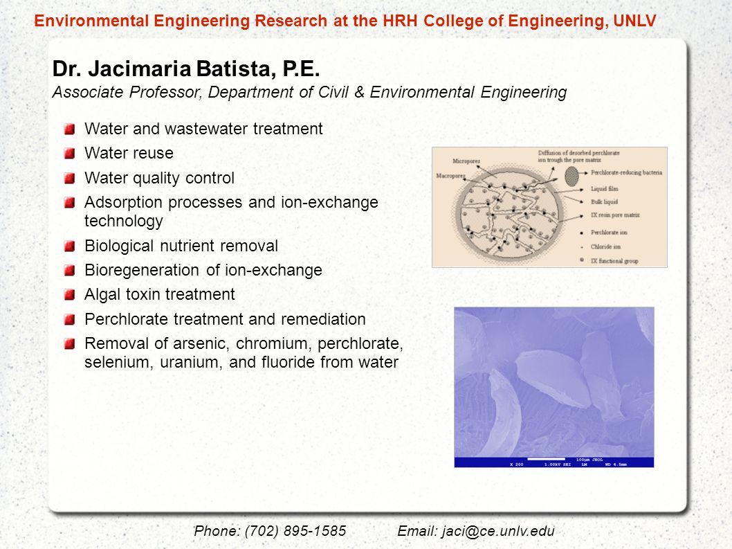 Dr.Jacimaria Batista, P.E.