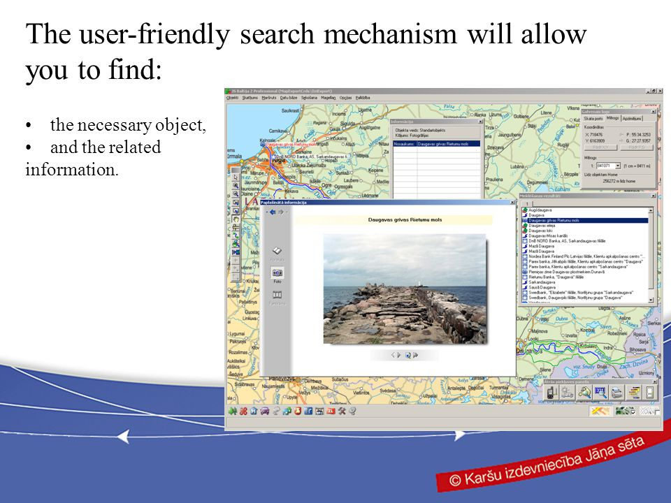 and the related information. The user-friendly search mechanism will allow you to find: