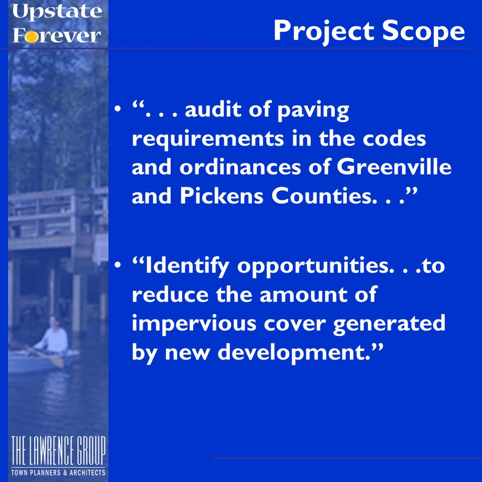 Project Scope ...