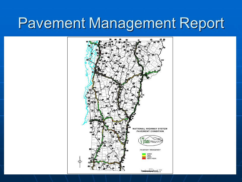 Pavement Management Report