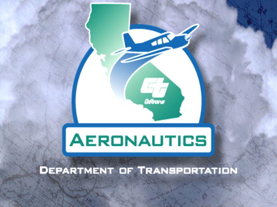 1Caltrans Division of Aeronautics