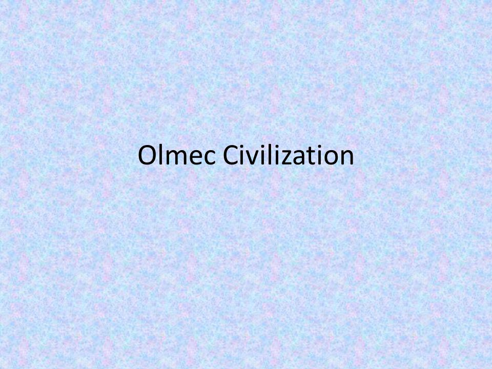 The Olmec people lived in what is now Mexico, Guatemala and Honduras between 1500 B.C.