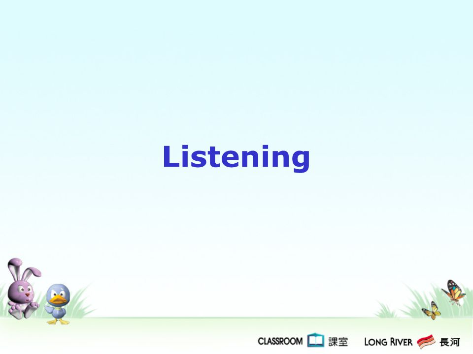Format of the Test Listening Duration about 15 minutes No.