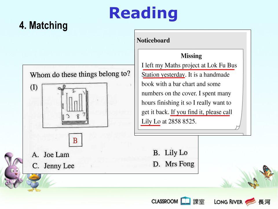 Reading 4. Matching