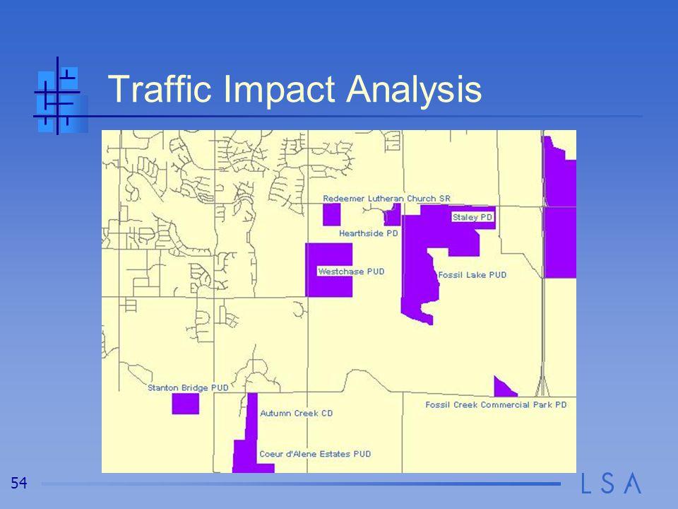 54 Traffic Impact Analysis