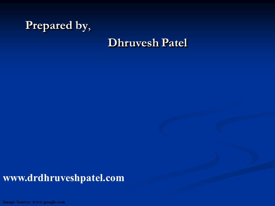 Prepared, Prepared by, Dhruvesh Patel Prepared, Prepared by, Dhruvesh Patel www.drdhruveshpatel.com Image Source: www.google.com