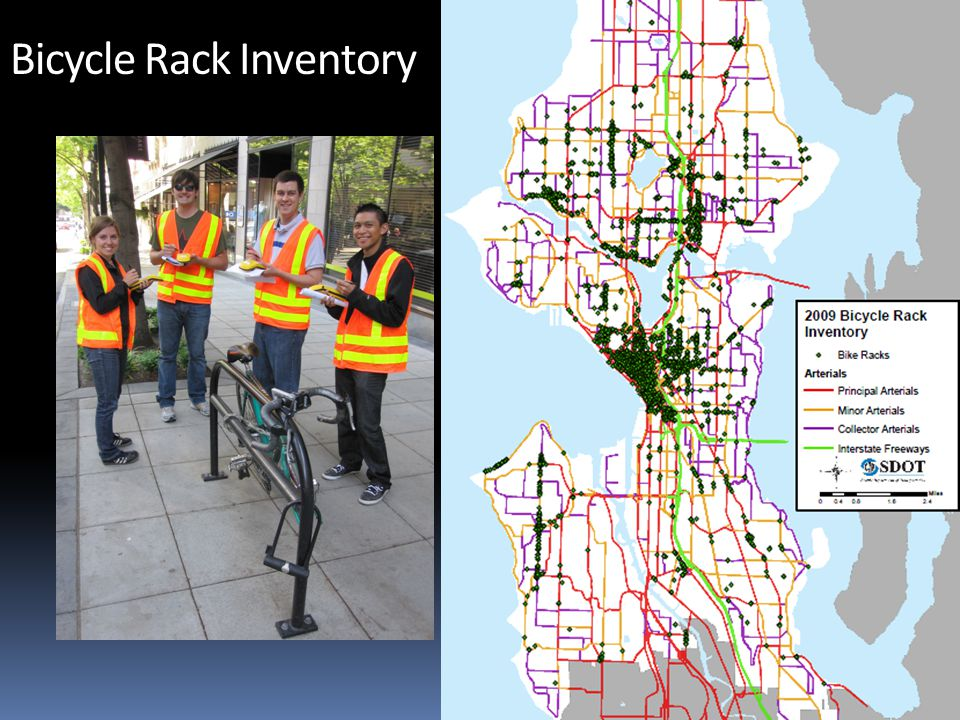 City of Seattle Department of Transportation Bicycle Rack Inventory