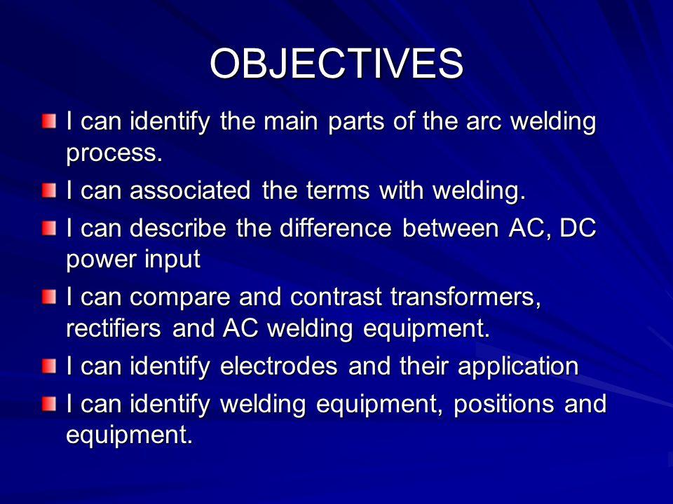 ELECTRIC ARC / WIRE WIRE WELDING ARC/WIRE WELDING