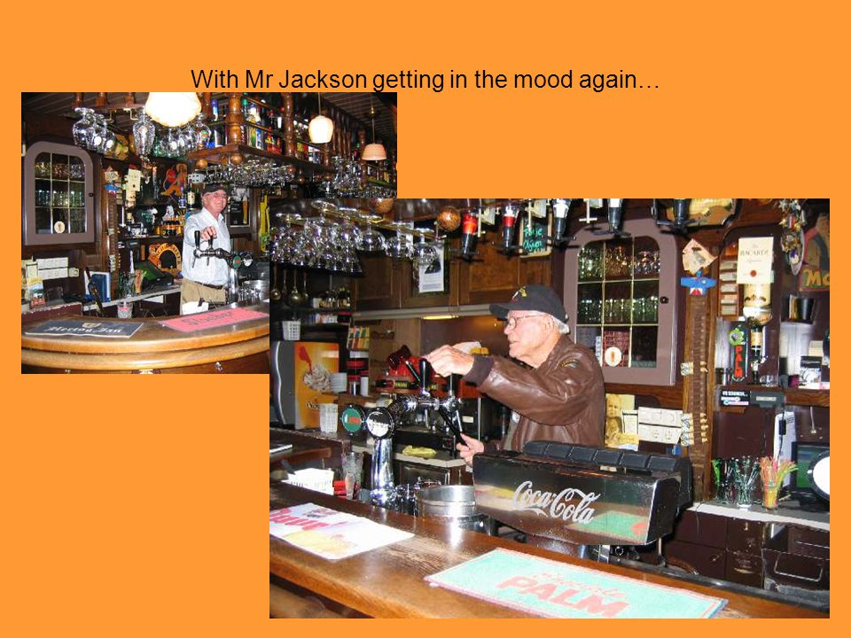 With Mr Jackson getting in the mood again…