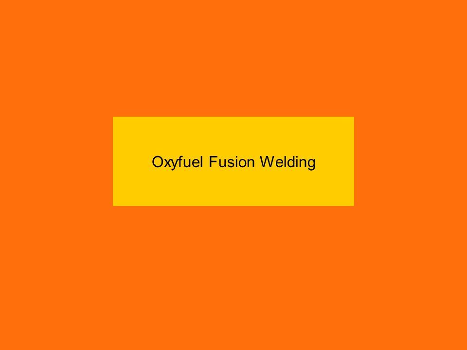 Oxyfuel Fusion Welding