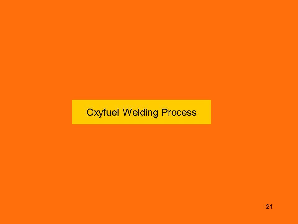 21 Oxyfuel Welding Process