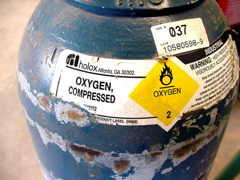 Oxy-fuel Oxy-fuel combines pure oxygen which will not burn until combined with a combustible fuel gas such as acetylene, propylene, or propane