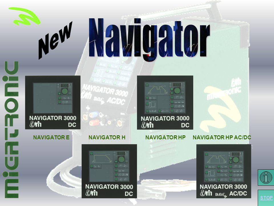 Forside NAVIGATOR E NAVIGATOR H NAVIGATOR HP NAVIGATOR HP AC/DC STOP