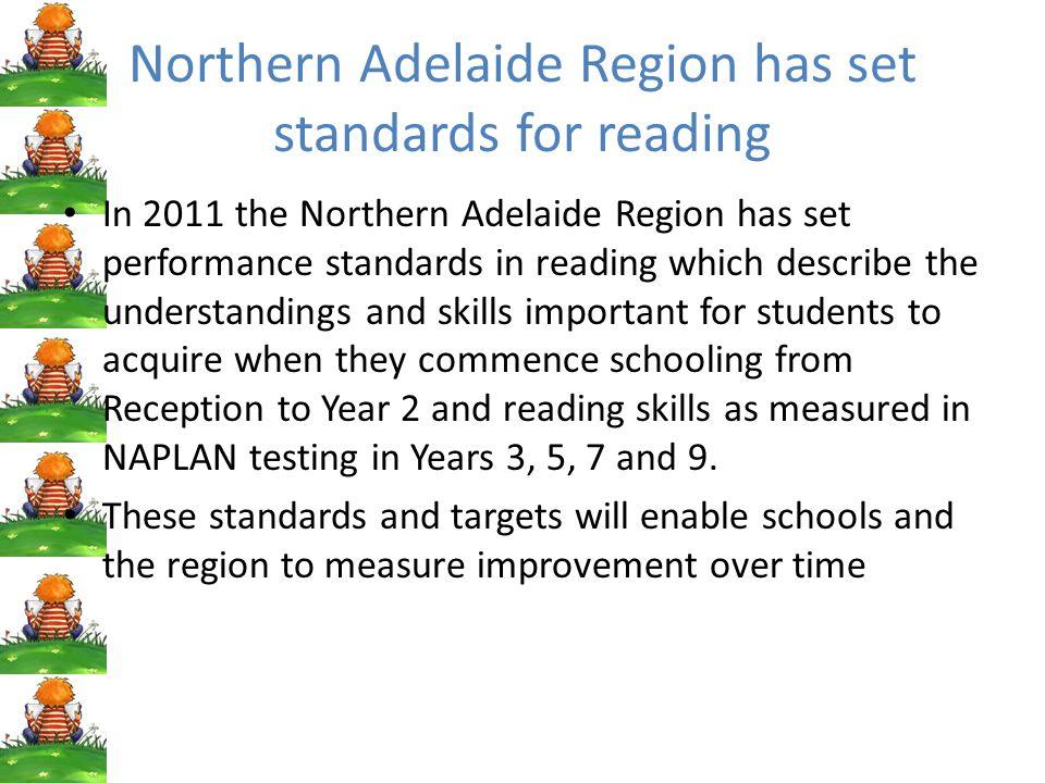 Standards set for 2011