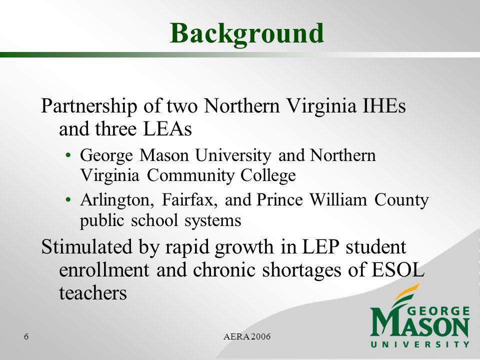 7AERA 2006 LEP Enrollment in BIPACAL LEAs