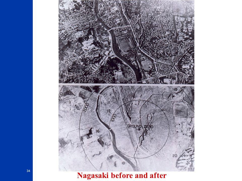 34 Nagasaki before and after