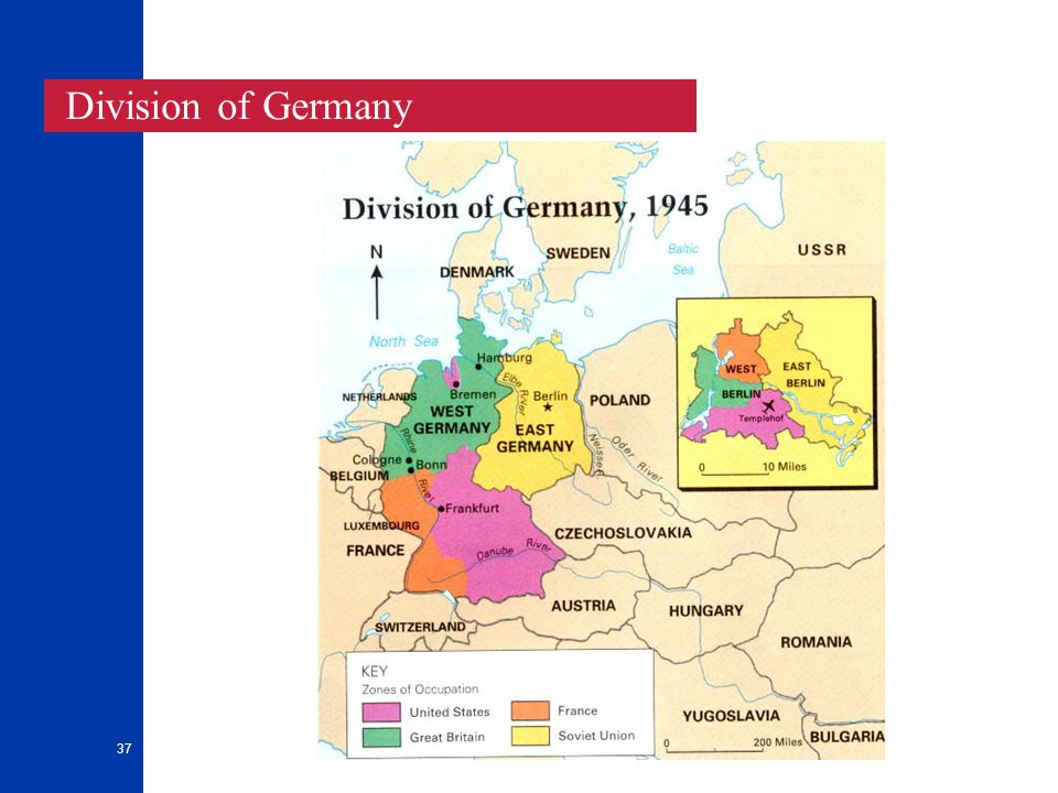 37 Division of Germany