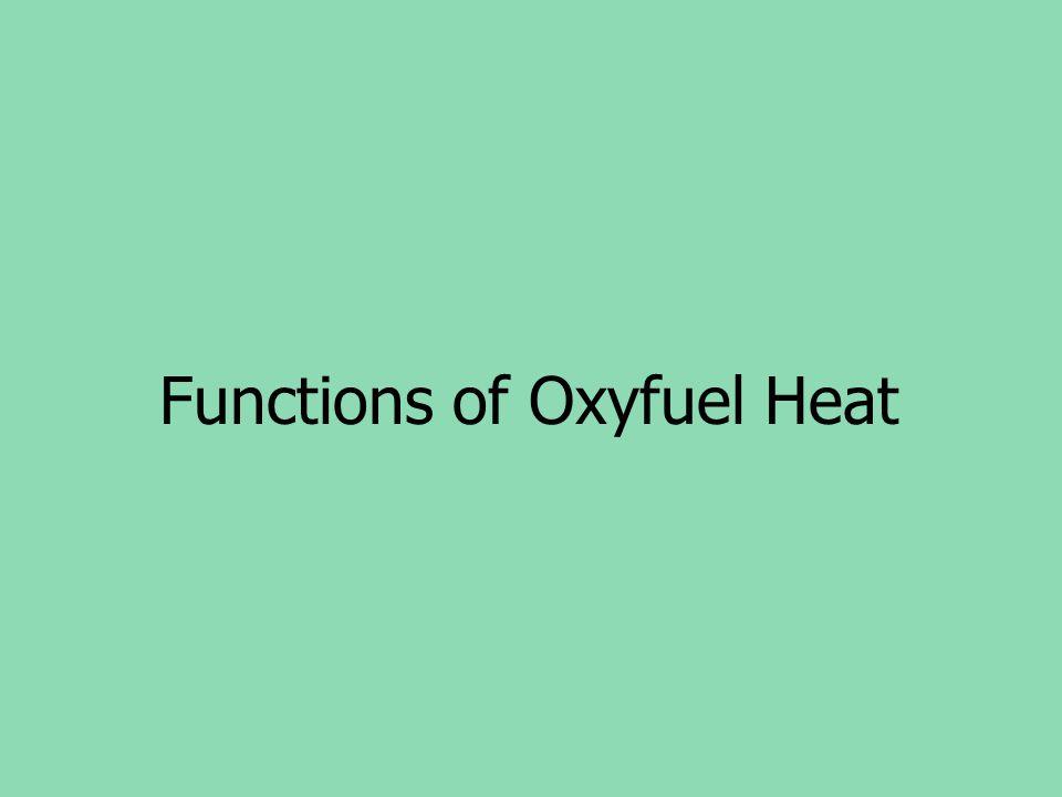 Functions of Oxyfuel Heat