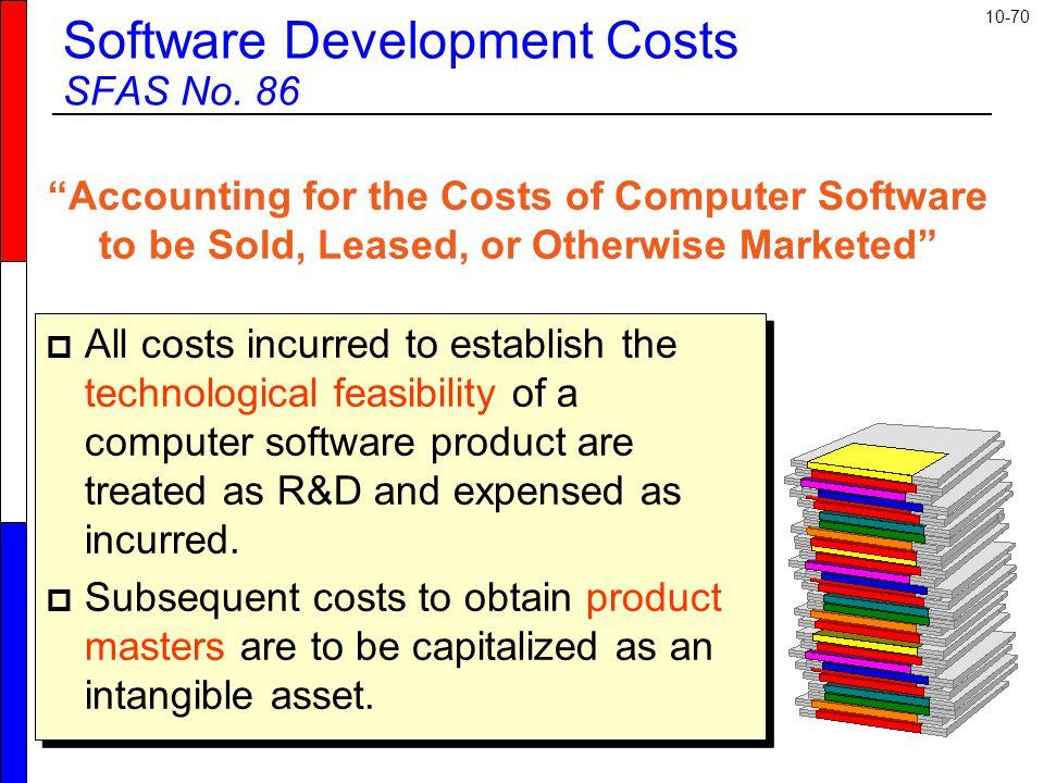 10-70 Software Development Costs SFAS No.