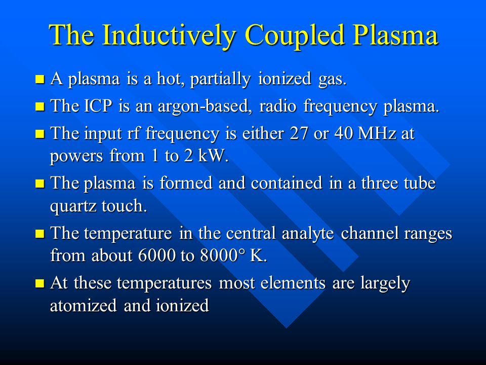 The ICP Torch and Plasma