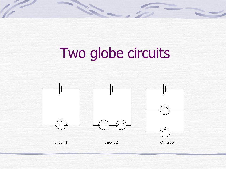 Two globe circuits