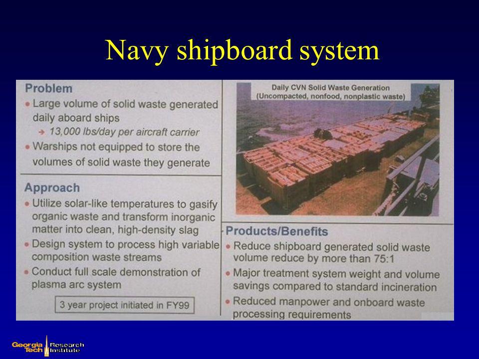 Navy shipboard system