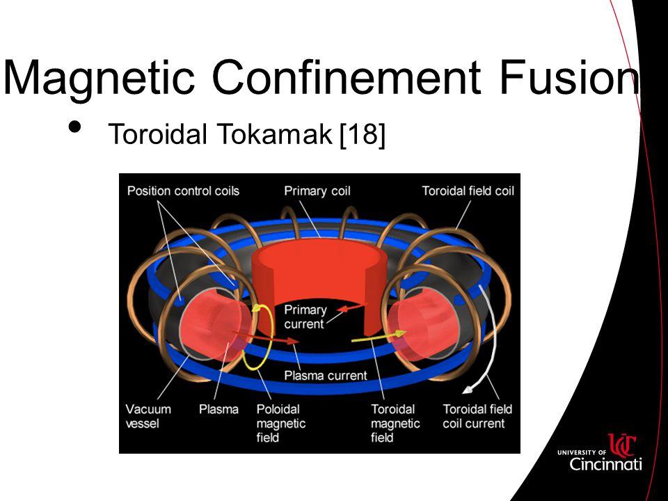 Magnetic Confinement Fusion Toroidal Tokamak [18]