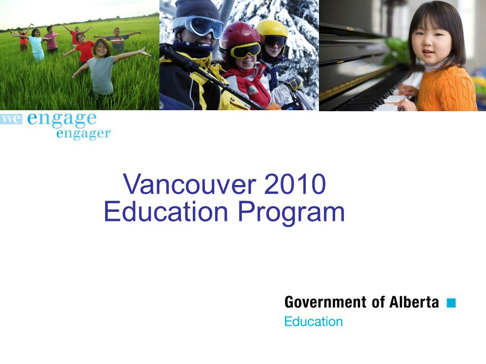 Vancouver 2010 Education Program
