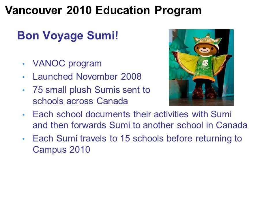 Bon Voyage Sumi.