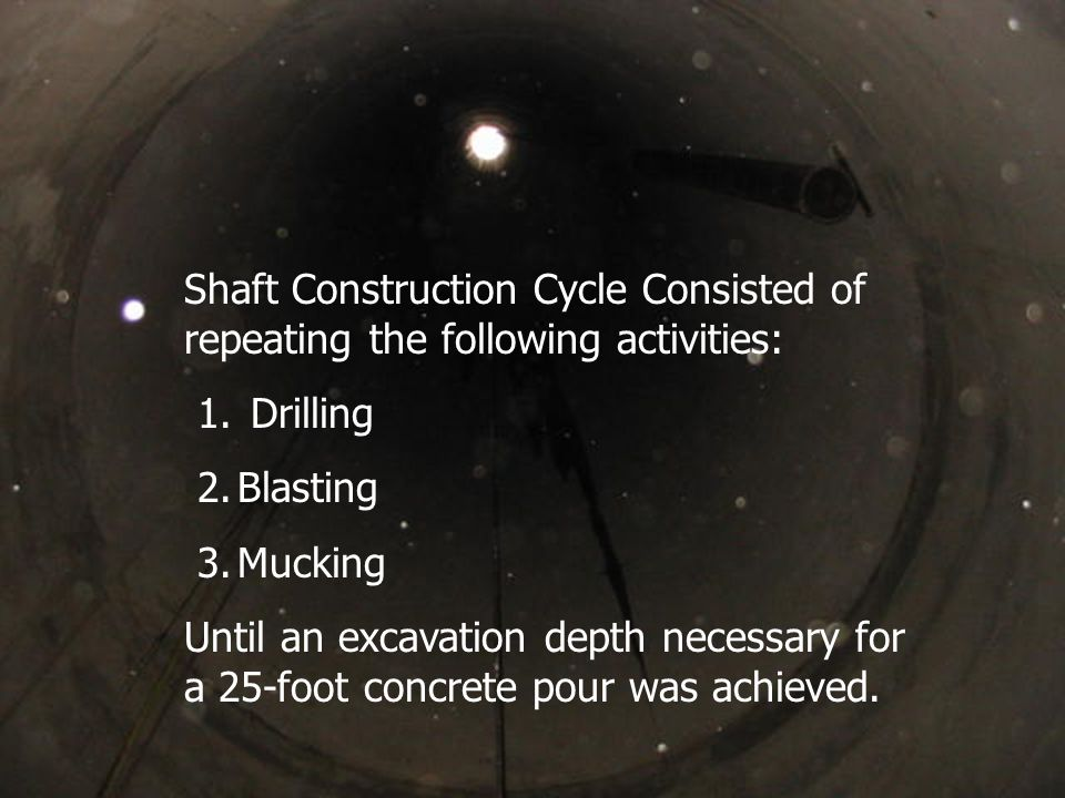 Mandoor opening into completed first water ring. Constructed ~ 270 feet below surface.