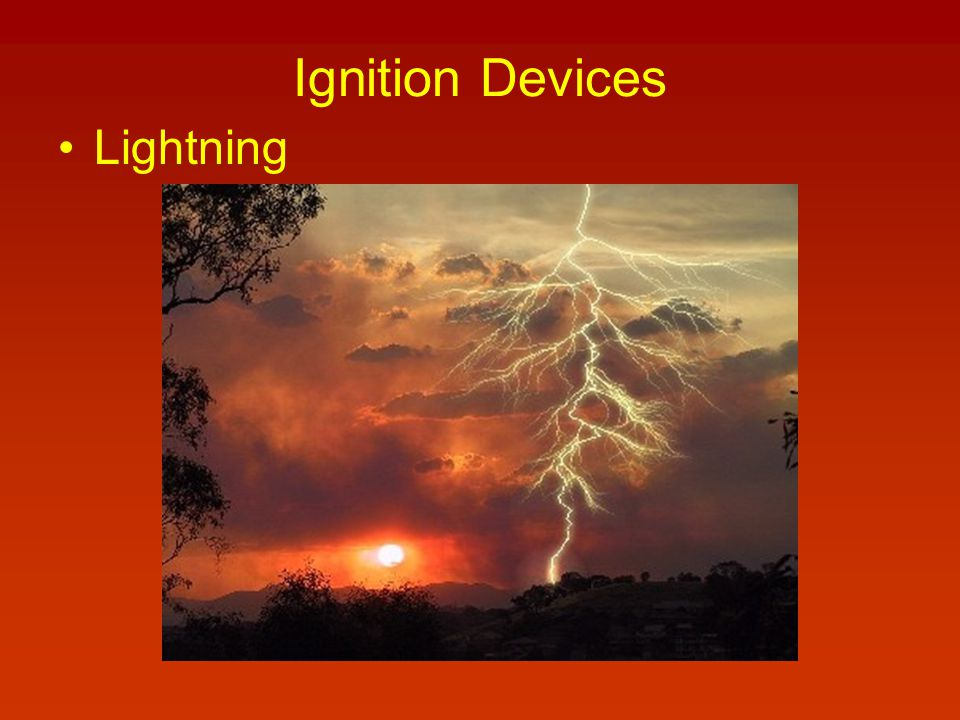 Ignition Devices Lightning