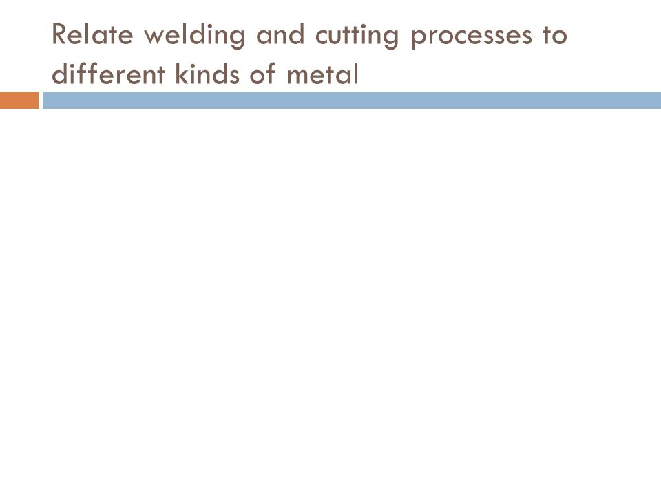 4.3 Distinguish parts and functions of oxyacetylene welding and cutting equipment and supplies