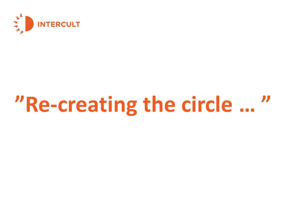 Re-creating the circle …