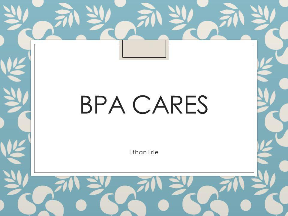 BPA CARES Ethan Frie