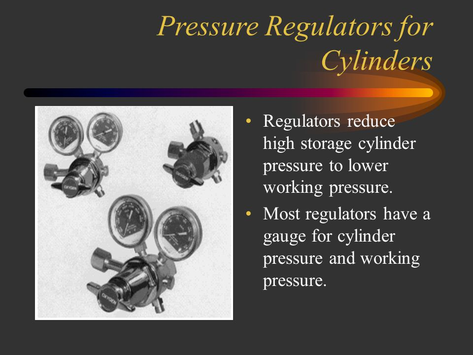"""Oxygen Cylinders Oxygen cylinders incorporate a thin metal """"pressure safety disk"""" made from stainless steel and are designed to rupture prior to the c"""