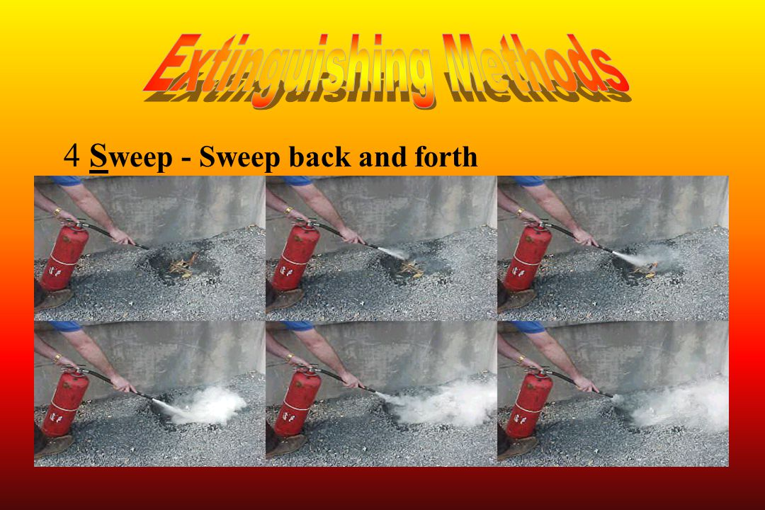4S weep - Sweep back and forth