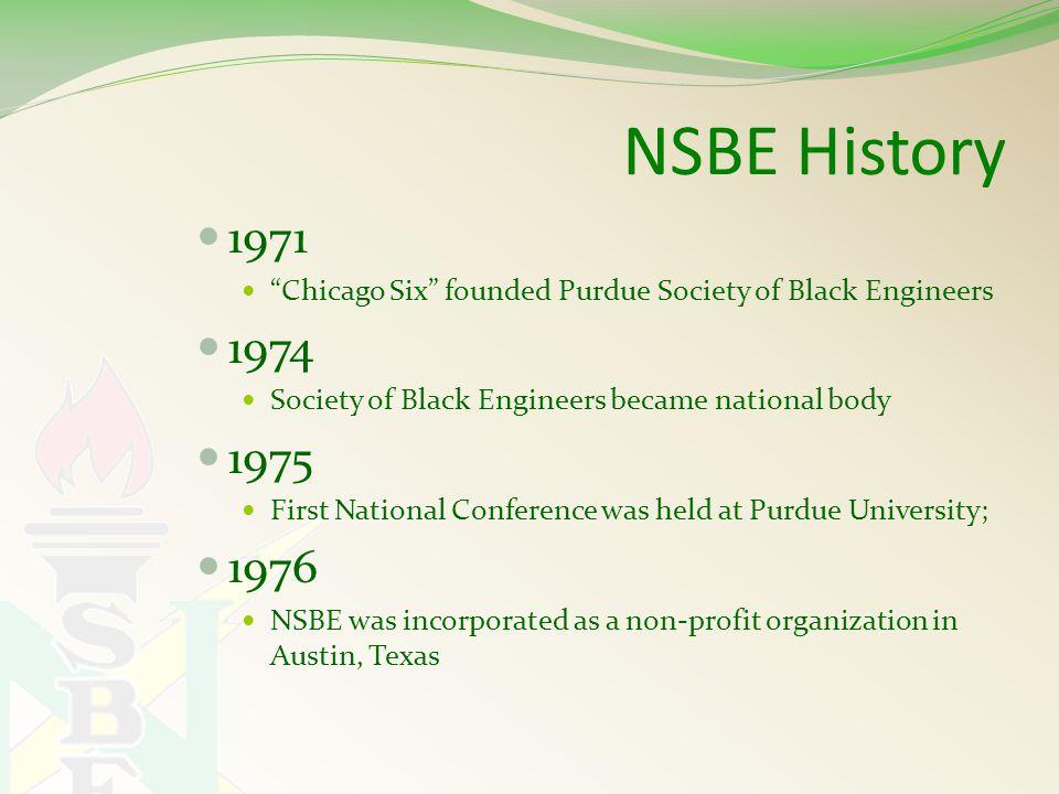Currently 33,067 members 375 Collegiate, 75 Alumni Extension, 75 NSBE Jr.