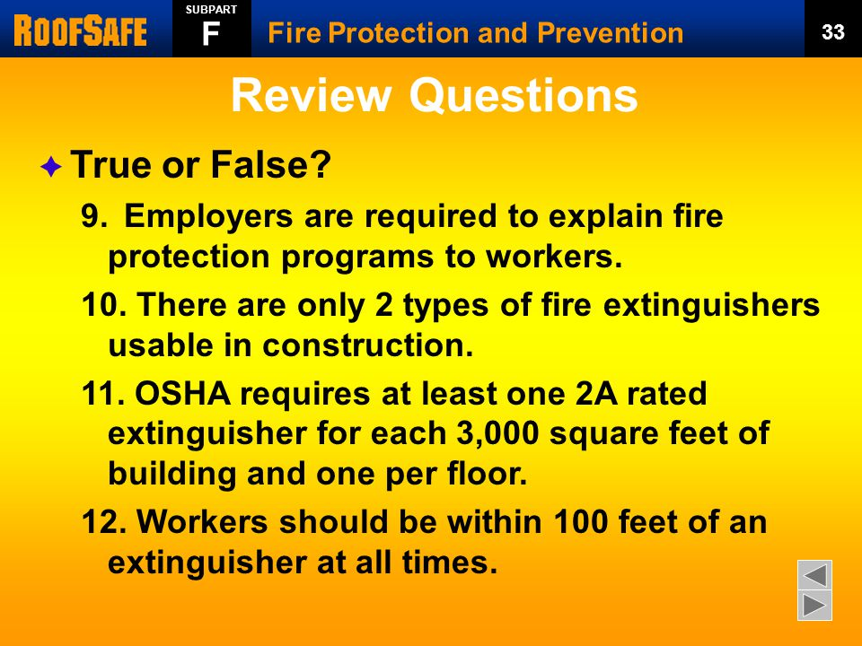 Review Questions  True or False.