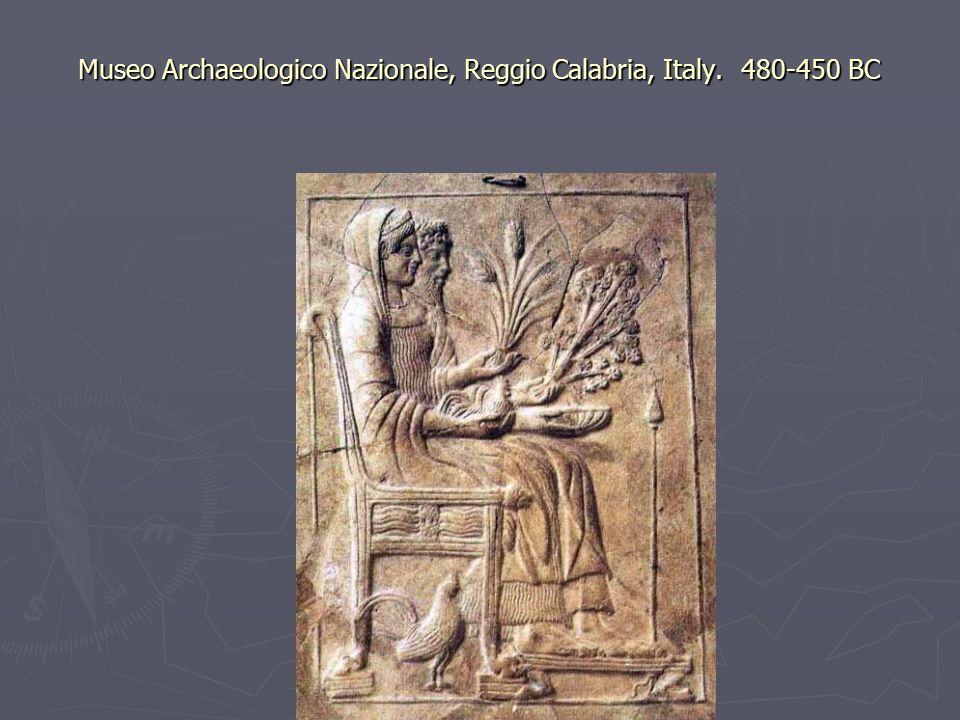 Museo Archaeologico Nazionale, Reggio Calabria, Italy. 480-450 BC