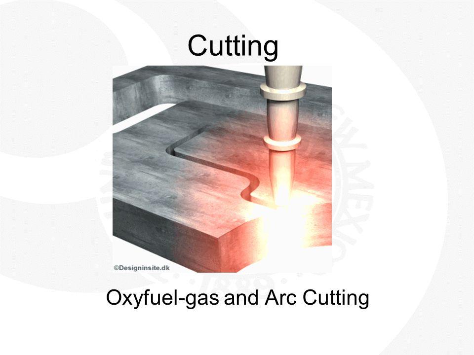 Cutting Oxyfuel-gas and Arc Cutting