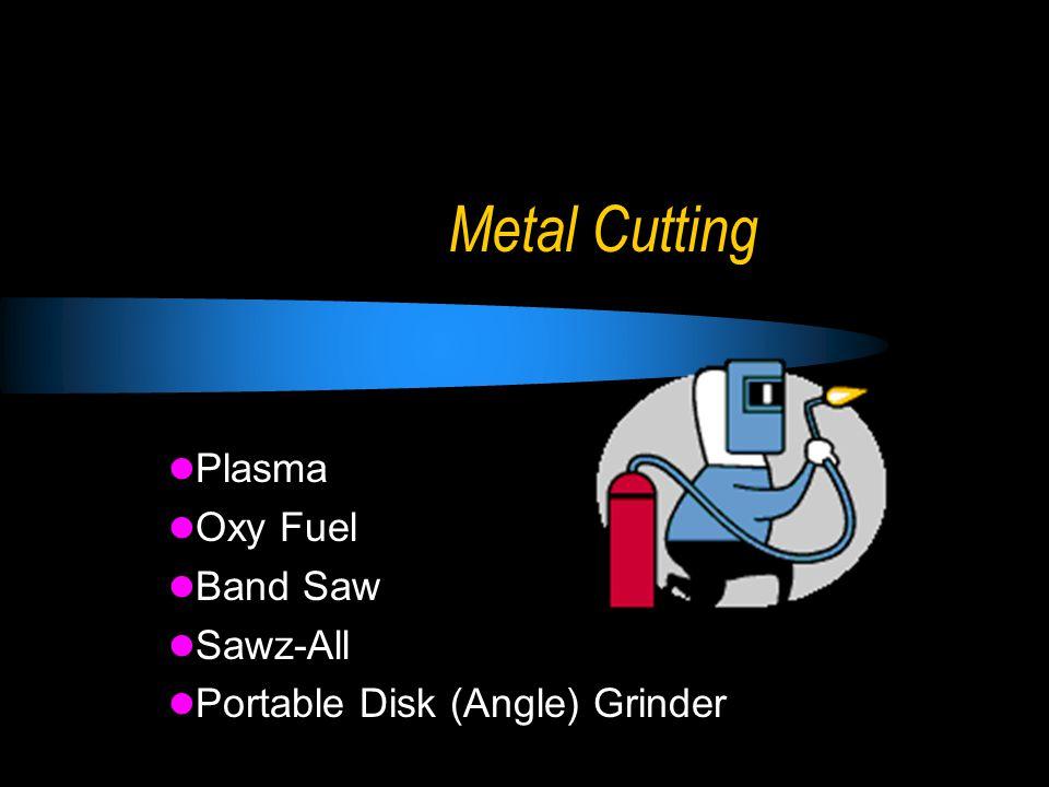 Metal Cutting Plasma Oxy Fuel Band Saw Sawz-All Portable Disk (Angle) Grinder