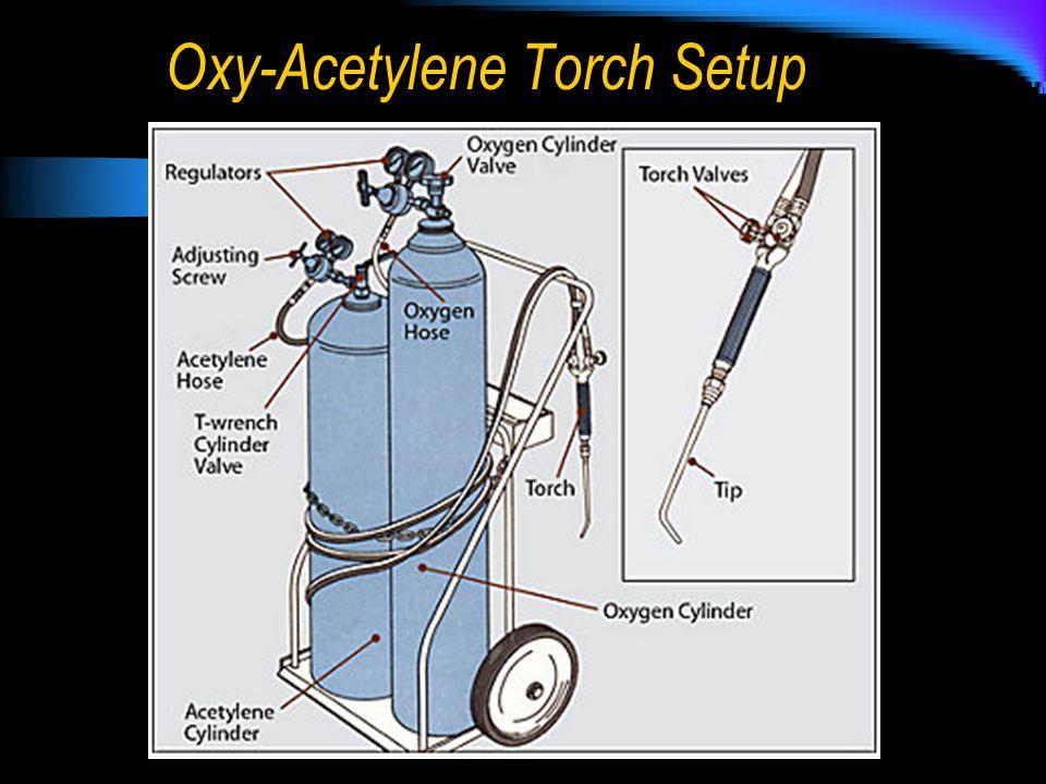 Oxy-Acetylene Torch Setup