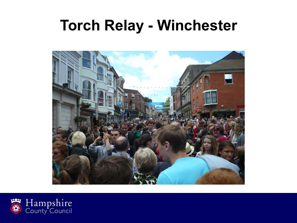 Torch Relay - Winchester