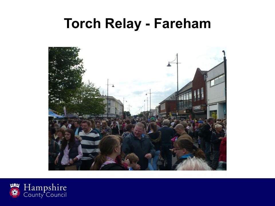 Torch Relay - Fareham