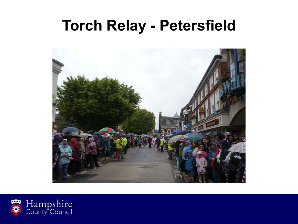 Torch Relay - Petersfield