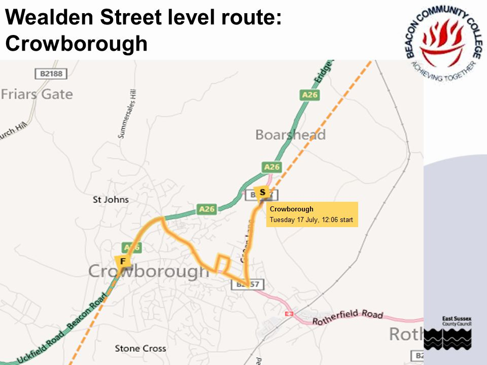 Wealden: Pevensey Pevensey and Westham School celebrate the Olympic torch coming to Wealden