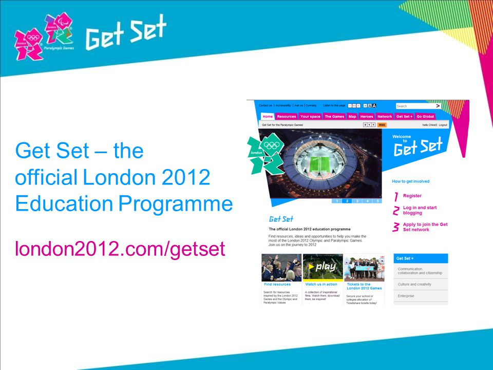 Get Set – the official London 2012 Education Programme london2012.com/getset