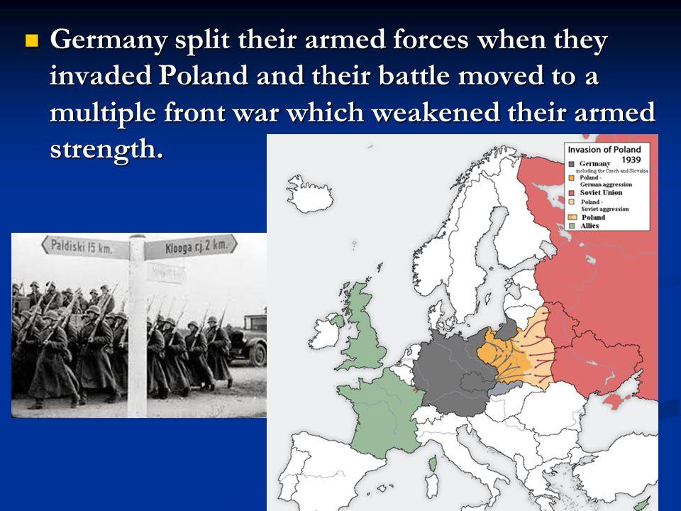 MAJOR EUROPEAN EVENTS OF WORLD WAR II