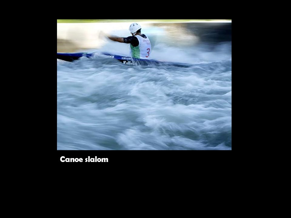 Canoe slalom (