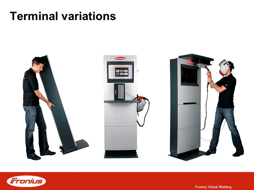 Fronius Virtual Welding Terminal variations